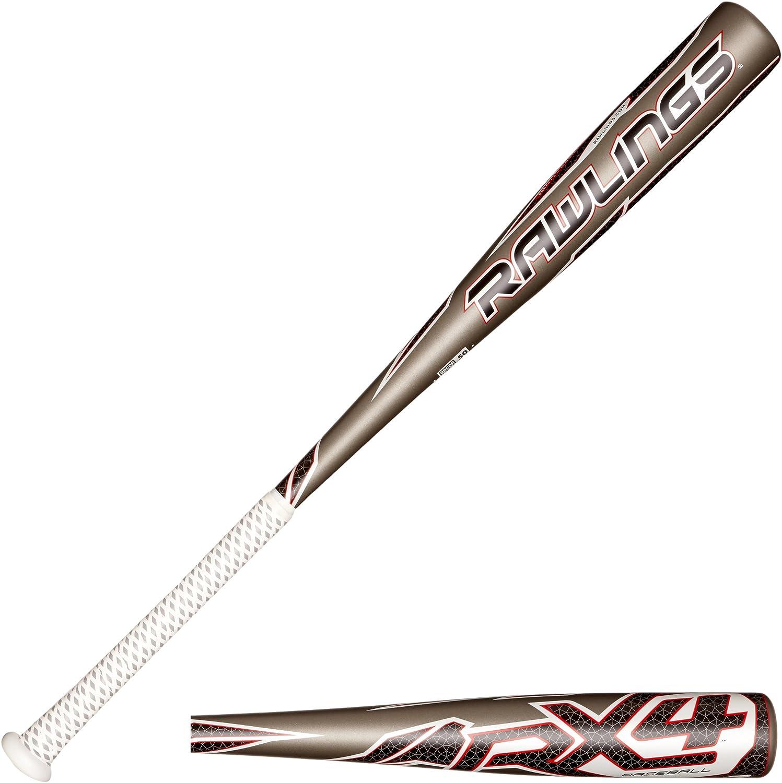 Rawlings 2014 RX4 BBRX4 BBCOR Baseball Bat (-3)