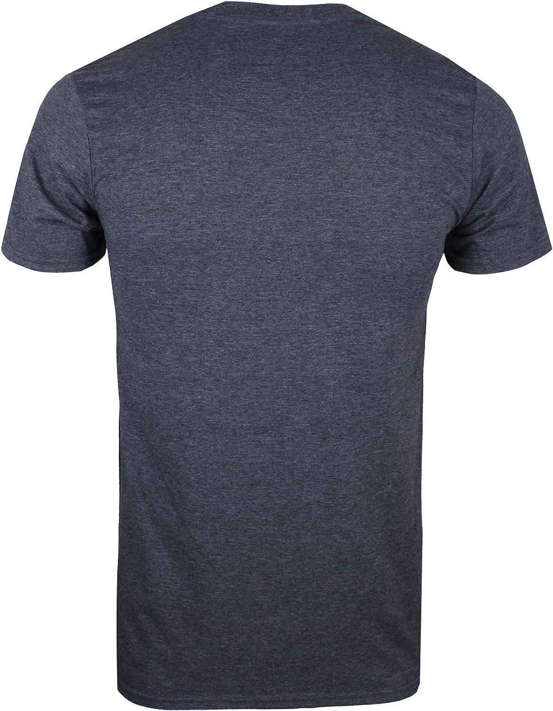 Heather Navy Hny Azul Marvel Comics Group Logo-Mens T Shirt SML Camiseta Small Talla del Fabricante: Small para Hombre