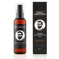 Percy Nobleman Olio da Barba con Balsamo - Un Ammorbidente per la Barba e un Potente Balsamo da Uomo, 100 ML