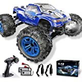 Soyee RC Cars 1:10 Scale RTR 46km/h High Speed Remote Control Car All Terrain Hobby Grade 4WD Off-Road Waterproof…