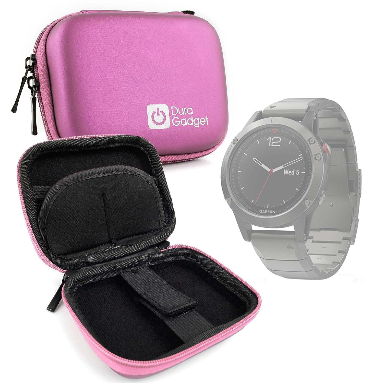 DURAGADGET Estuche Rígido Rosa para Smartwatch ASUS WI501Q(BQC ...