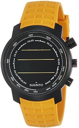 Suunto - Elementum Terra - SS019172000 - Reloj deportivo - Amber (ámbar) - Display fondo oscuro: Amazon.es: Deportes y aire libre