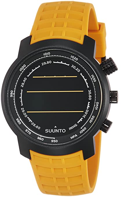 Suunto Altimeter Digital Silver Dial Unisex Watch - SS019172000 Men's Watches at amazon