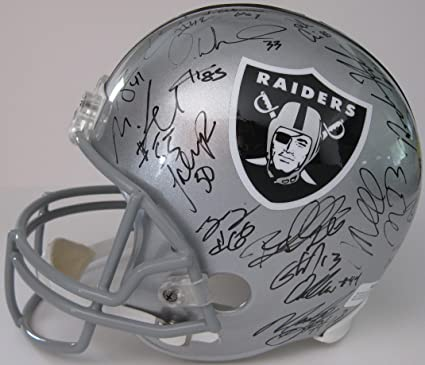 huge discount 98813 b6831 Amazon.com: 2018 Oakland Raiders team signed autographed ...