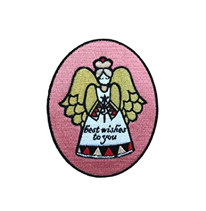 Vinpatch Best Wishes To You Embroidered Sew On Iron On Patch Personalized Travel Patches Designed For Shirts Jackets Jeans And Backpacks Patch Size 2 6 X3 5 Amazon In Home Kitchen