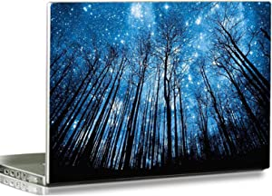 """Baocool 15 15.6 inch Laptop Notebook Skin Vinyl Sticker Cover Decal Fits 12"""" 13.3"""" 14"""" 15.6"""" 16"""" HP Samsung Lenovo Apple Mac Dell Compaq Asus Acer Laptop Notebook PC (Blue Sky & Trees)"""