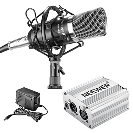 Amazon.com: Neewer – nw-700 Micrófono Condensador ...