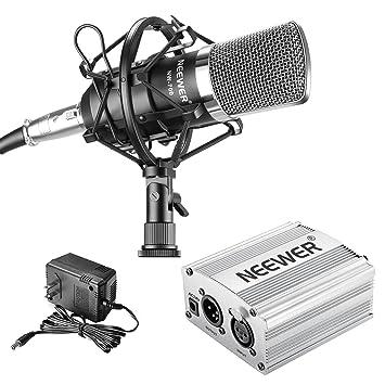 Neewer nw-700 profesional micrófono de condensador y Kit de ...