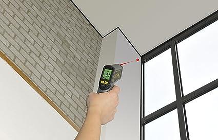 Trebs 99714 infrarot temperaturmessgerät laser pyrometer infrarot