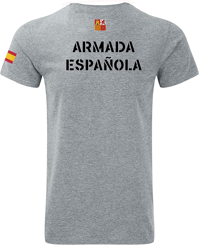 Imperio - Camiseta Armada Española. Marina Española - Fuerzas Armadas (XL): Amazon.es: Ropa y accesorios