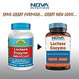 Nova Nutritions Lactase Enzyme 3000 FCC ALU 180