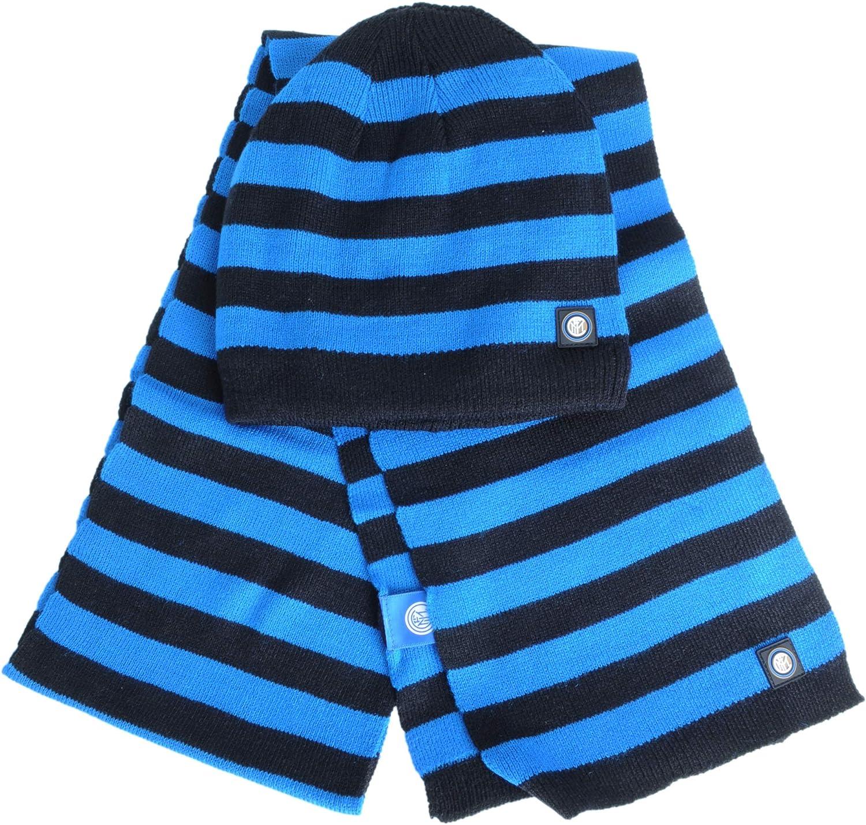 Blackblue M No Gender Inter FCINF|#FC Set Scarf And Hat Kids 5-8 Years