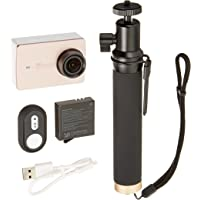 YI 4K Action Camera with Selfie Stick & Bluetooth Remote