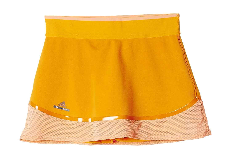 adidas G Skort - Falda para niña, Talla 170, Color Dorado/Naranja ...