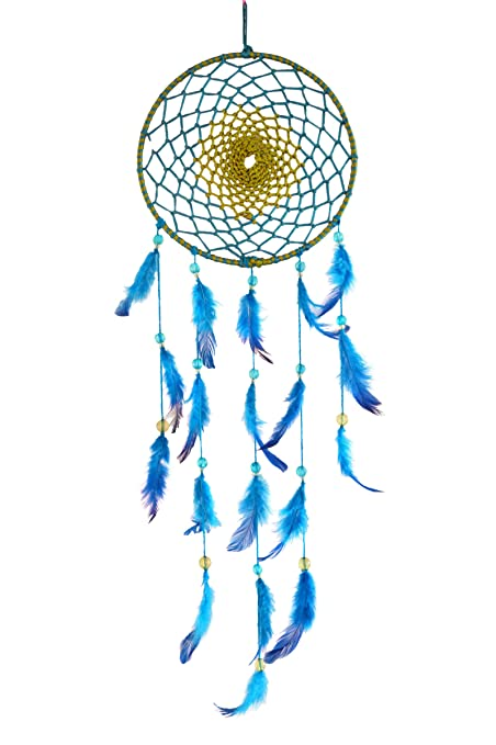 Buy Paperiva Large Handmade Blue Dream Catcher Wall Hanging Online Gorgeous Extra Large Dream Catchers For Sale