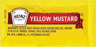 product image for Heinz Yellow Mustard Single Serve Packet (0.2 oz Packets, Pack of 1,000)