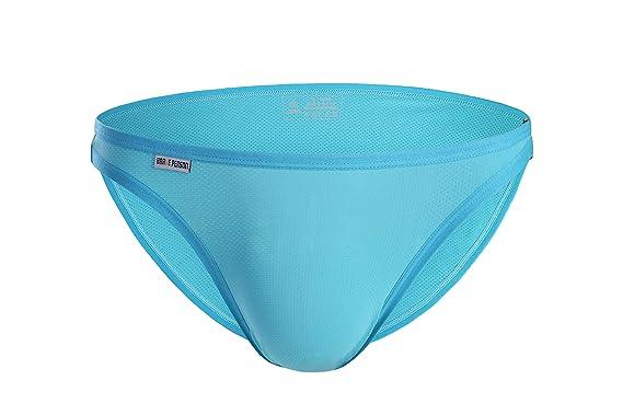 ace1440bd9 Sexy Small Mesh Briefs Men's Bikini Underwear B1146 at Amazon Men's ...