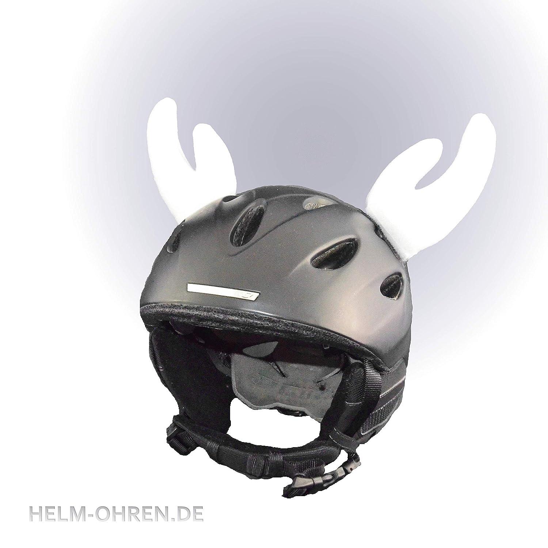 Crazy Ears Helm-Accessoires Biene Teddy Maus Katze Helm Dekoration f/ür Kinder und Erwachsene Ski-Ohren geeignet f/ür Skihelm Motorradhelm Fahrradhelm und vieles mehr