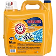 Arm & Hammer Laundry Detergent Plus Oxiclean, Fresh Scent, 224 Fluid Ounce