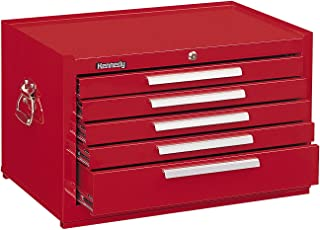 """product image for Kennedy Manufacturing 285R 5-Drawer Mechanic's Chest with Friction Slides, 27"""", Red"""