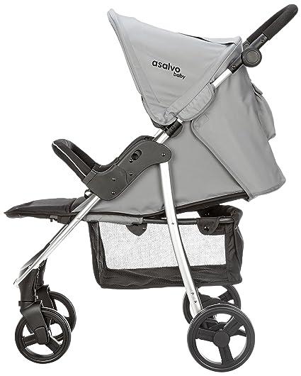 Amazon.com: Asalvo America - Cochecito, color gris antracita ...