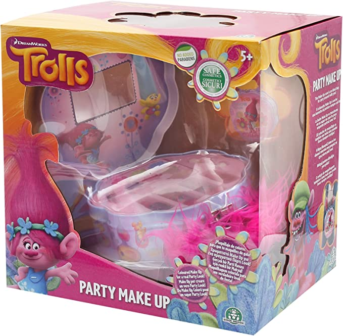 TROLLS - Party make up, estuche de maquillaje (Giochi Preziosi TRL08000): Amazon.es: Juguetes y juegos