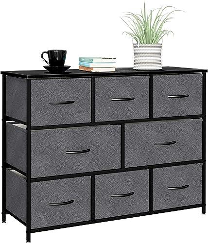 8 Drawers Dresser Fabric Storage Organizer