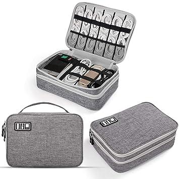 Amazon.com: Organizador de electrónica, Jelly Peb accesorios ...