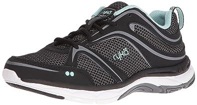 Ryka Women's Shift Walking Shoe, Black/Grey, ...