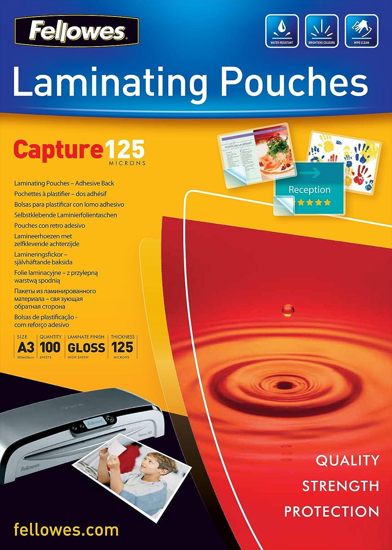 Fellowes 5329001 - Pack de 100 bolsas plastificadores ...