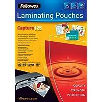 Fellowes 5329001 - Pack de 100 bolsas plastificadores autoadhesivas, A3