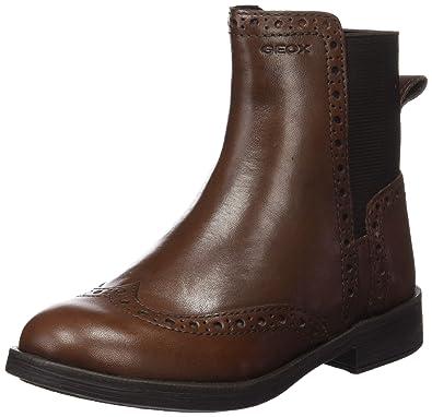 Geox Jr Agata A, Stivali da Equitazione Bambina