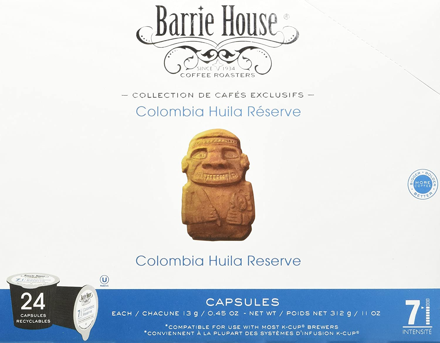 Barrie House Colombia Reserve Coffee Capsules, 96 Count: Amazon.com: Grocery & Gourmet Food