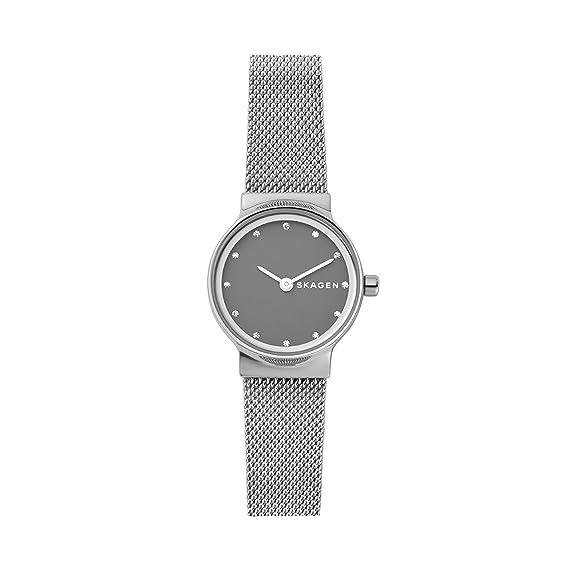 da50b412c968 Skagen Reloj Analogico para Mujer de Cuarzo con Correa en Acero Inoxidable  SKW2667  Amazon.es  Relojes