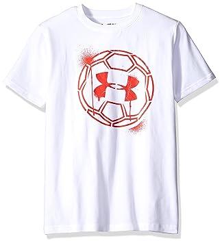 Under Armour Challenger B s Ball Graphic Camisetas de Fútbol, niño, Fußball Shirt
