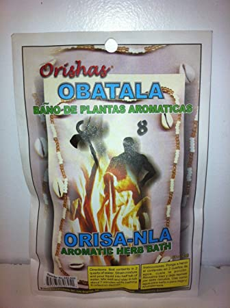 Amazon.com : Aromatic Plant Bath for the Orisha Obatala 3/4 Oz Bag (Bano De Plantas Aromaticas) : Bath And Shower Gels : Beauty