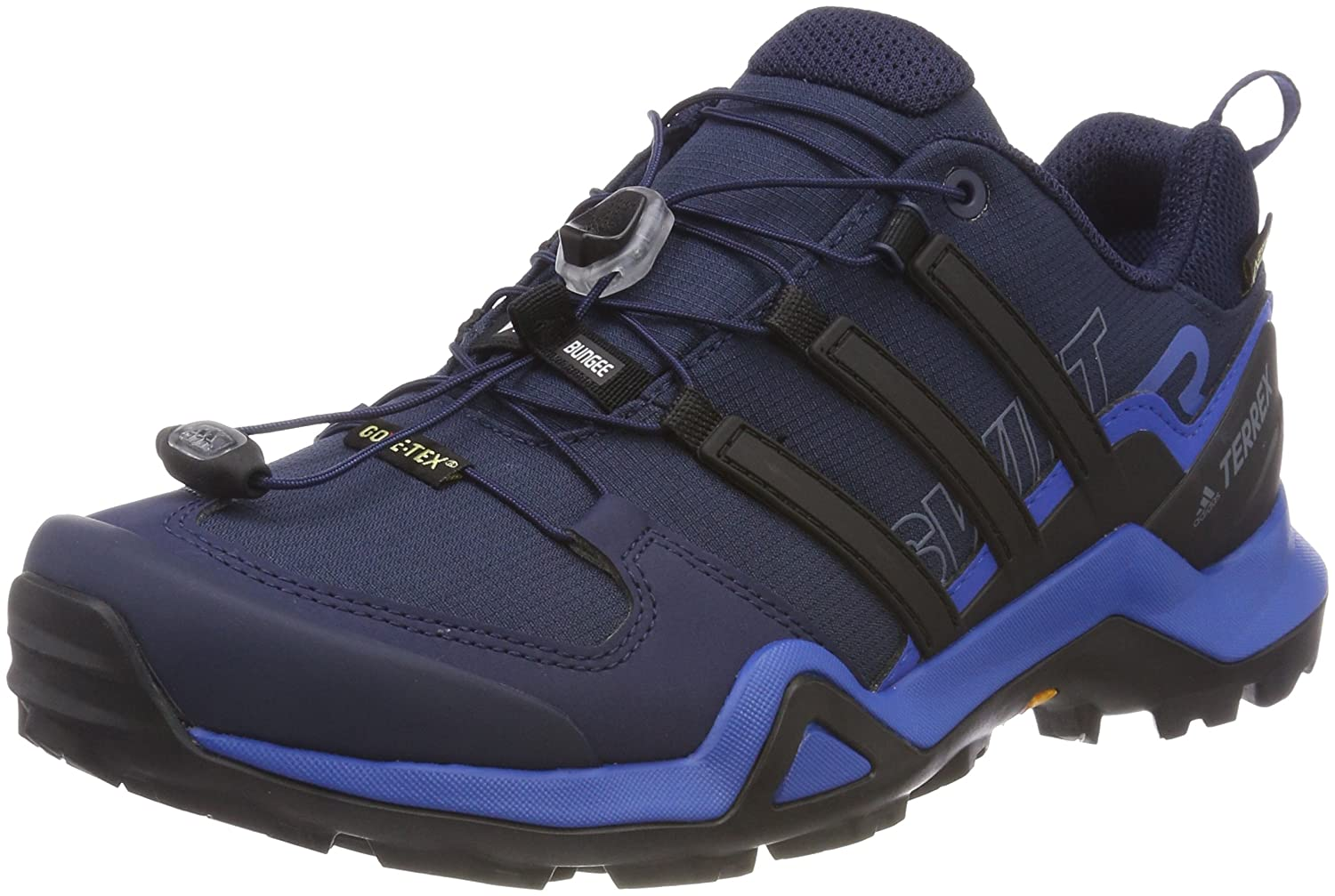 Adidas Terrex Swift R2 GTX, Zapatillas de Running para Asfalto para Hombre 47 1/3 EU|Azul (Collegiate Navy/Core Black/Blue Beauty 0)