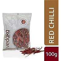 Amazon Brand - Vedaka Red Chilli (Lal Mirch), 100g