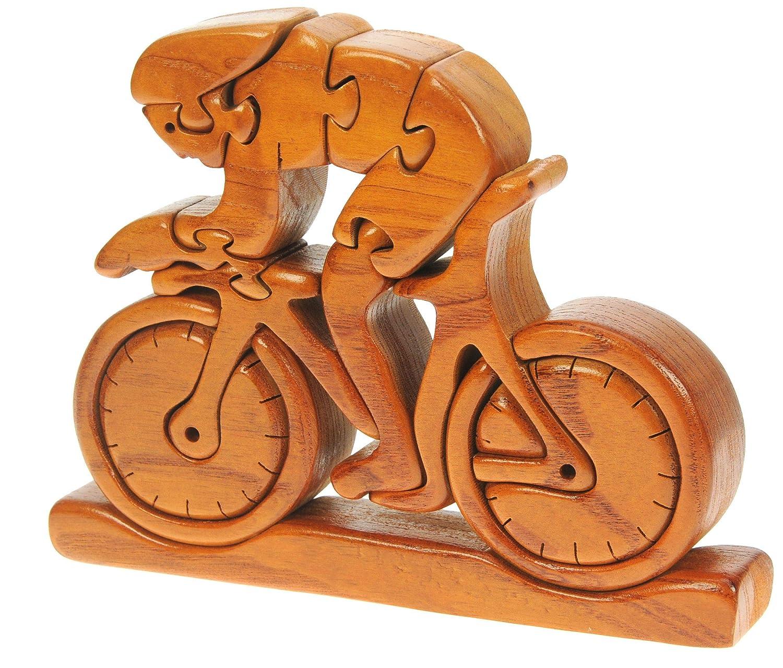 Namesakes V/élos de Course Joet 3D Puzzle en Bois Cadeau de nouveaut/é pour Adultes Enfants
