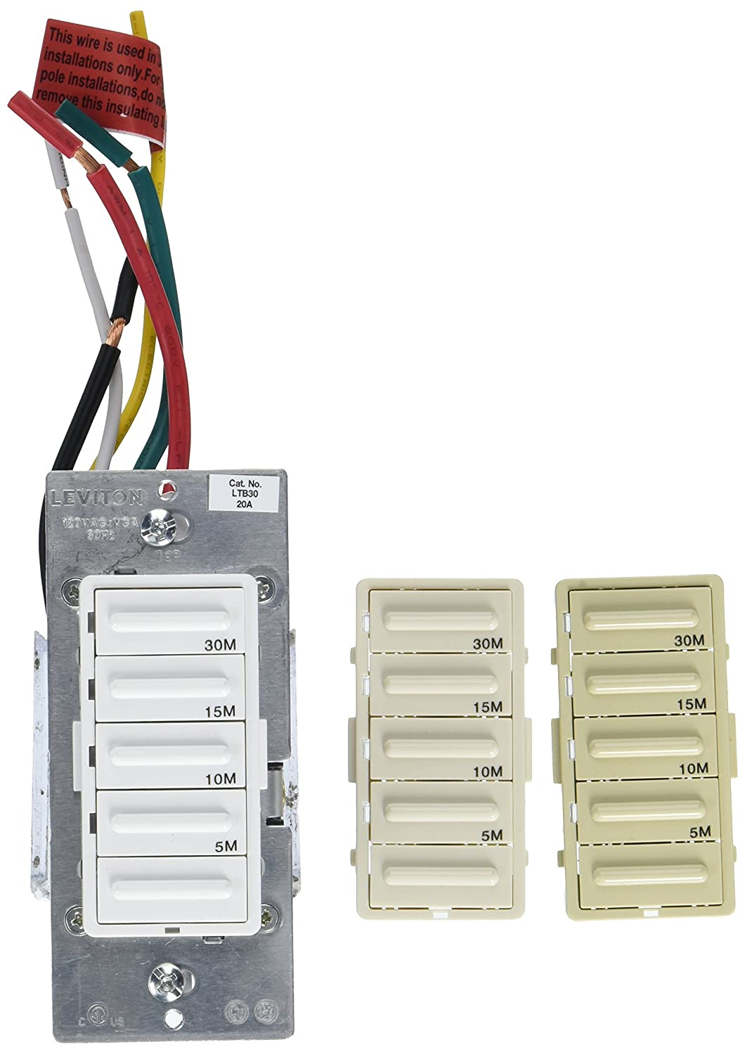 Wiring Diagram Leviton Ltb30 Trusted Diagrams O4 C10 Wire 1lz Decora 1800w Incandescent 20a Resistive Inductive Light Switch