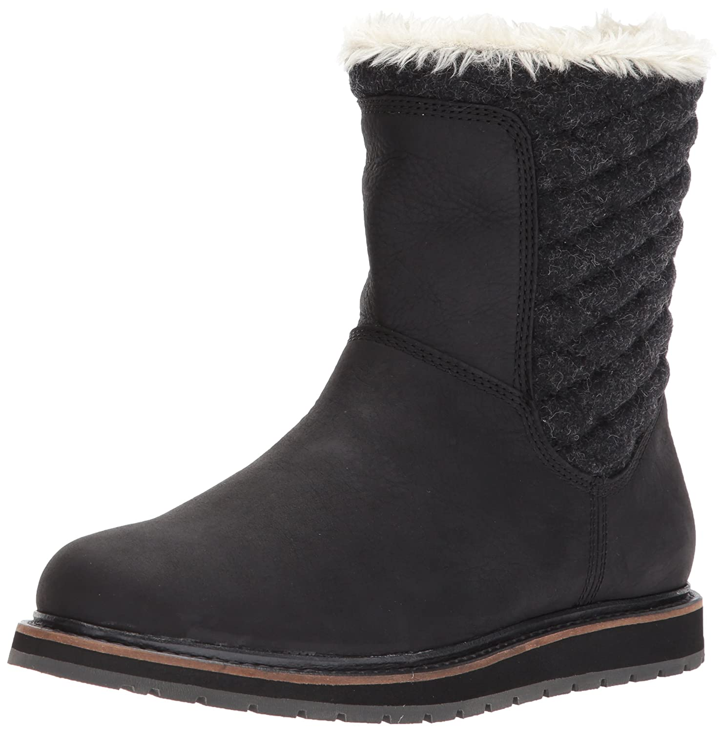 Helly Hansen Women's Seraphina Winter Boot B01MZIA5H0 7.5 B(M) US|Jet Black/Angora/Black