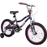 Monster High Girl's Bike, 18-Inch, Black/Purple/Pink