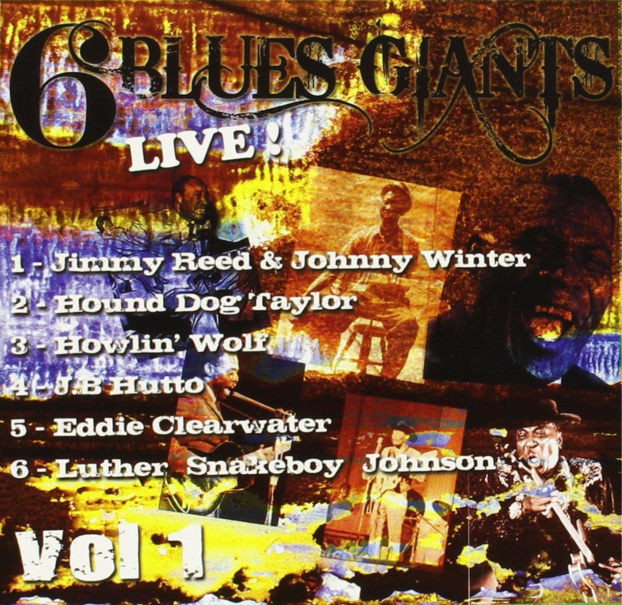 6 Blues Giants Live Vol.1
