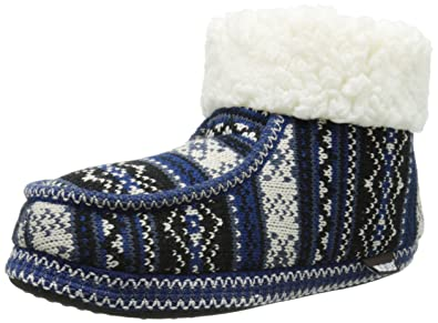 Women's Moc BT W/Cuff- Swiss Fair Isle Boot