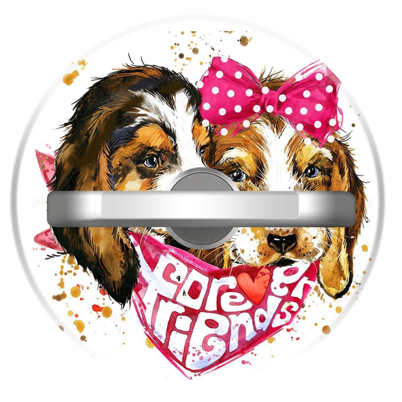 Amazon.com: Dog Lover Phone Ring Holder, Customized 360 ...
