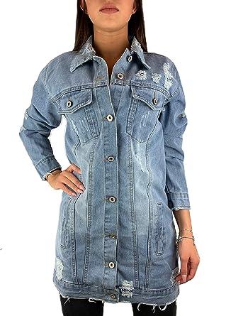 Damen Jeansjacke im Washed Look, , Gr.XXL