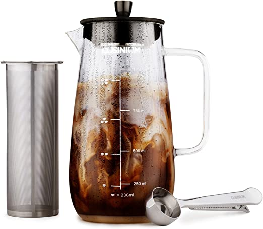 Amazon.com: Cold Brewer – Kit de café frío – Cafetera helada ...