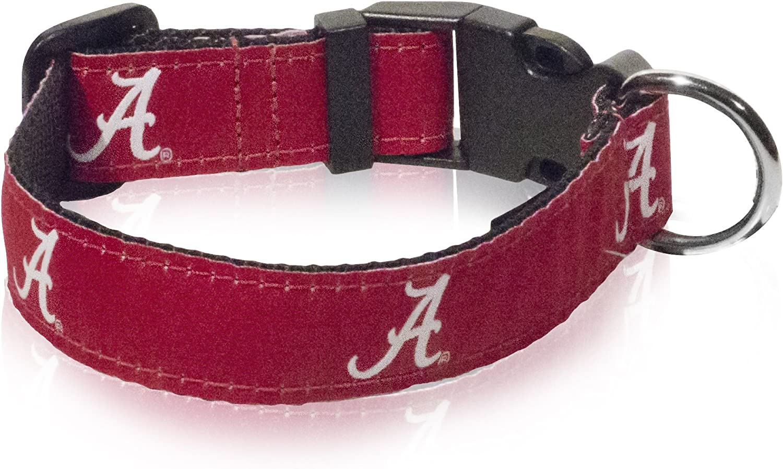 Pet Care Preferred Alabama Crimson Tide Pet Nylon Collar