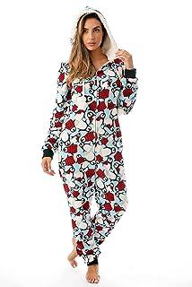 71db49af40 Just Love Holiday Ugly Christmas Adult Onesie Pajamas
