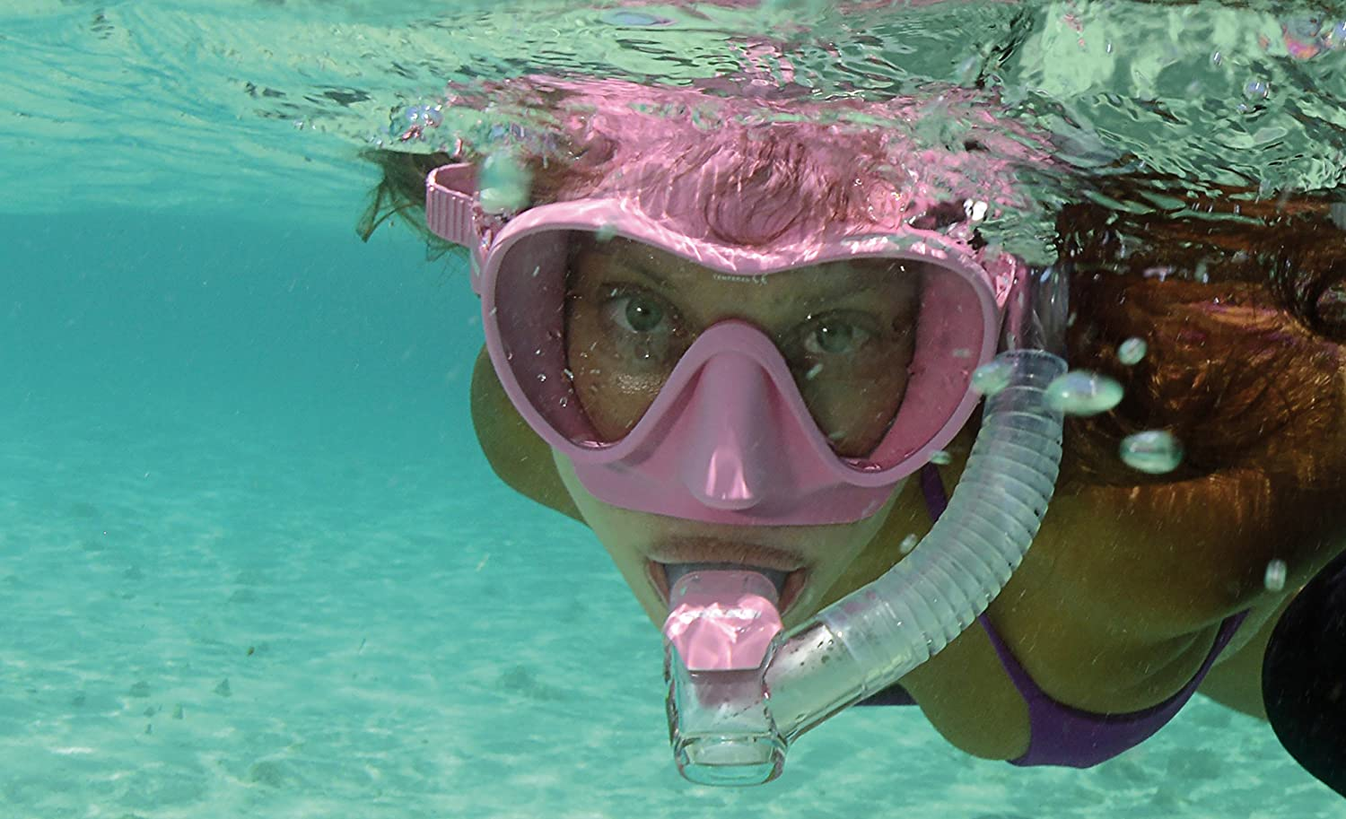 Cressi F1 Small Frameless Diving//Snorkeling Mask for Kids and Womens